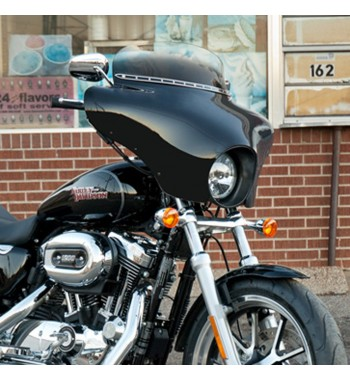 PARABREZZA CARENATURA BATWING FAIRING HARLEY DAVIDSON XL1200X FORTY EIGHT '10-'16