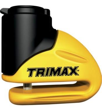 ANTIFURTO BLOCCA DISCO TRIMAX COL.GIALLO- PERNO 5,5 MM.