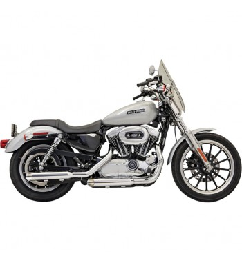 "3"" FIREPOWER SERIES SLIP-ON MUFFLERS SLIP ON SLASH CUT  CHROME HARLEY DAVIDSON SPORTSTER '04-'13"
