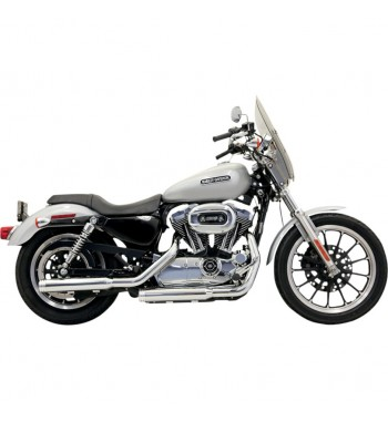 "3"" FIREPOWER SERIES SLIP-ON MUFFLERS SLIP ON STRAIGHT CUT  CHROME HARLEY DAVIDSON SPORTSTER '04-'13"