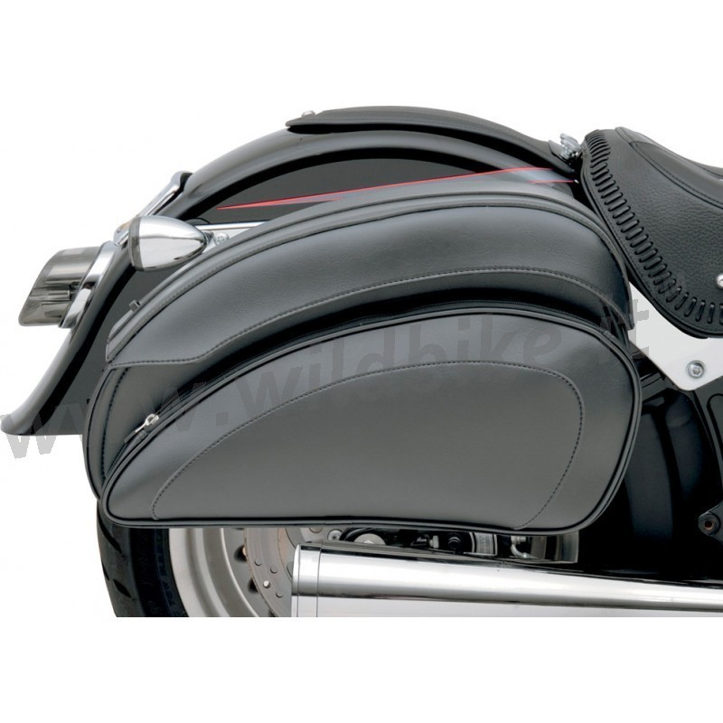 satteltaschen leder cruis 39 n de luxe f r custom motorrad. Black Bedroom Furniture Sets. Home Design Ideas