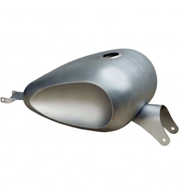 GAS TANK OLD SCHOOL DISHED 3,5 GAL. FOR HARLEY DAVIDSON XL SPORTSTER '07-'17
