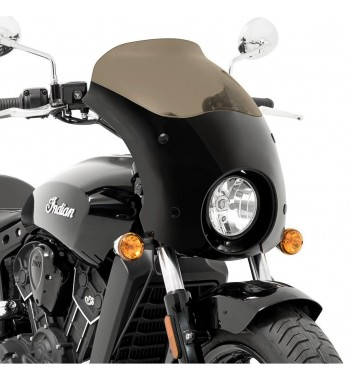 BULLET FAIRING WINDSHIELD BLACK FOR INDIAN SCOUT '15-'18