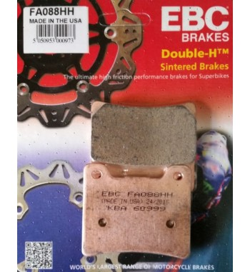 REAR BRAKE PAD EBC HH SINTERED® FOR YAMAHA XVS 1100 DRAGSTAR