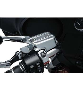 COVER KITS CHROME HANDLEBAR CONTROL FOR HARLEY DAVIDSON TOURING '14-'16
