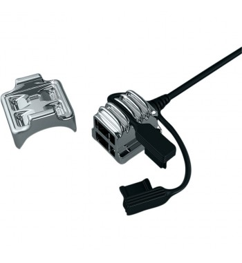 USB UNIVERSAL POWER SOURCE CHROME KURYAKYN FOR CUSTOM MOTORCYCLE AND HARLEY DAVIDSON