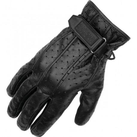 gants homme en cuir noir avec gel for pour moto. Black Bedroom Furniture Sets. Home Design Ideas