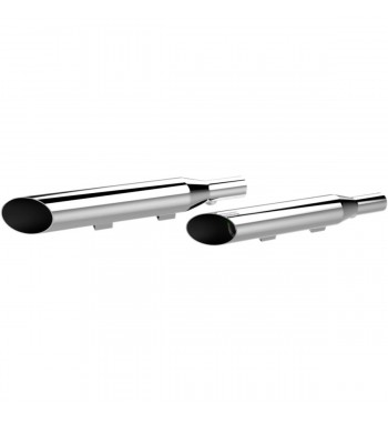 "EXHAUSTS MUFFLERS KHROME WERKS 3"" HP-PLUS® SLASH CUT CHROME HARLEY DAVIDSON XL SPORTSTER '04-'13"