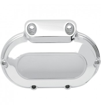 CHROME TRANSMISSION SIDE COVER FOR HARLEY DAVIDSON TWIN CAM '01-'17