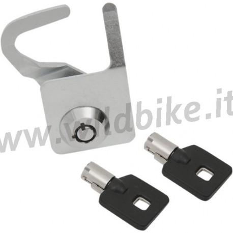 Kit di serratura con chiavi per baule tour pak harley for Kit per baule logati a mano