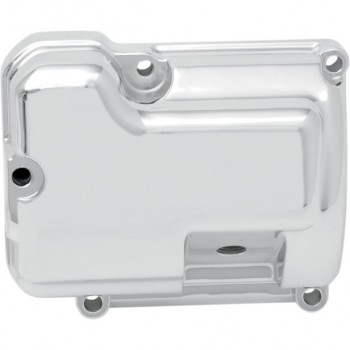 CHROME TRANSMISSION SIDE COVER FOR HARLEY DAVIDSON FXST/FLST SOFTAIL '00-'06