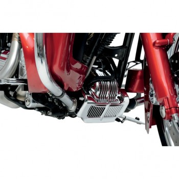 OIL COOLER COVER CHROME FOR HARLEY DAVIDSON FLH TOURING '11-'13