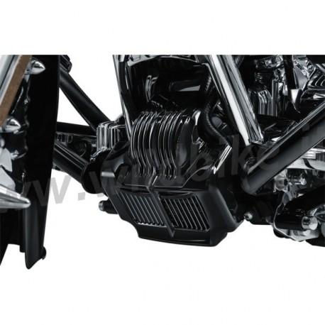 Copri radiatore olio per Harley Street Glide Special 17-20 nero