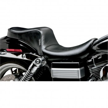 COMFORT  LEATHER SEAT LE PERA CHEROKEE TWO UP FOR HARLEY DAVIDSON FXD DYNA '06-'17