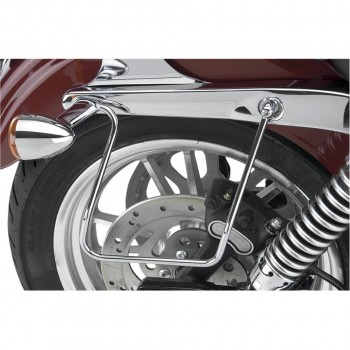 SADDLEBAGS SUPPORTS FOR HARLEY DAVIDSON STREET BOB/ SUPER GLIDE/LOW RIDER '06-'17