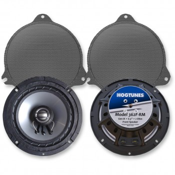 "REPLACEMENT FRONT SPEAKERS 6.5"" HOGTUNES 362F/R FOR HARLEY DAVIDSON TOURING '14-'18"
