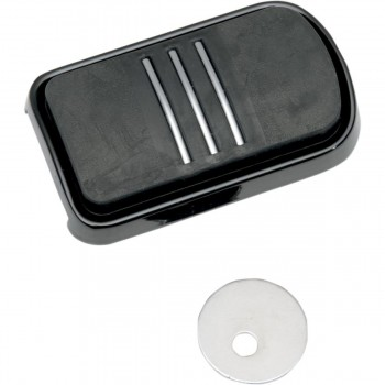 BLACK SWEEPER COVER BRAKE PEDAL FOR HARLEY DAVIDSON TWIN CAM '93-'16