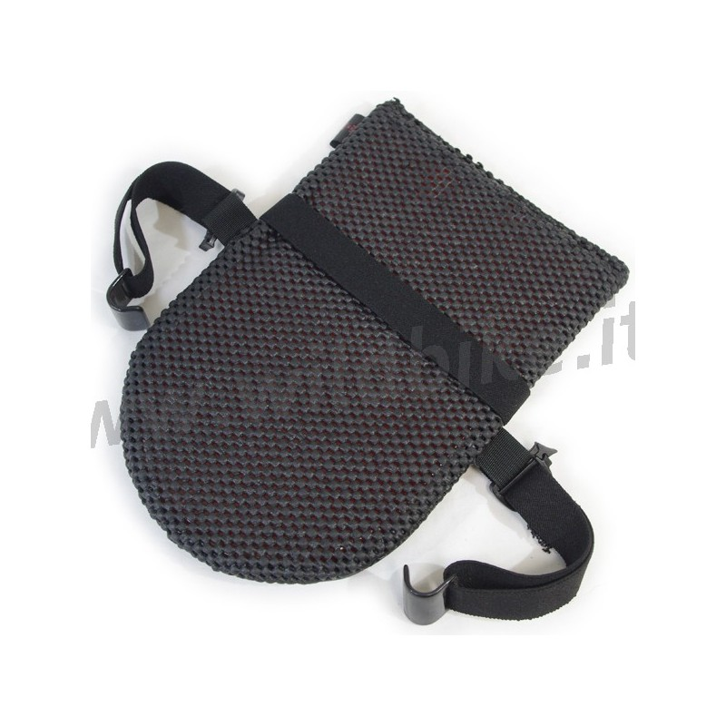 Leather Passenger Cushion Pro Pad With Gel For Motorcycle Seat