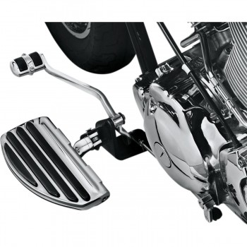 DRIVER FLOORBOARDS COMFORT ISO CHROME FOR YAMAHA XVS 1100 DRAGSTAR '99-'09
