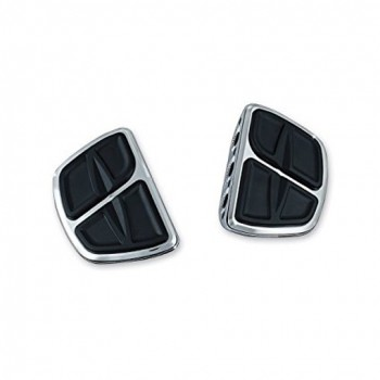 DRIVER/PASSENGER FLOORBOARDS MINI COMFORT KINETIC™ CHROME FOR TRIUMPH MOTORCYCLE