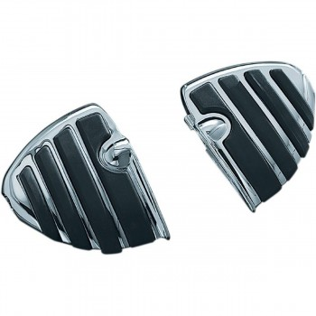 DRIVER/PASSENGER FLOORBOARDS MINI COMFORT ISO® WINGS CHROME FOR INDIAN SCOUT '15-'18