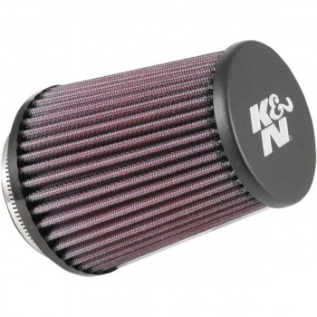 FILTRO ARIA K&N HIGH FLOW AIRCHARGER RE-5286 UNIVERSALE CLAMP-ON 76 MM PER MOTO