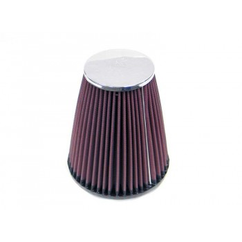 AIR FILTER K&N HIGH FLOW AIRCHARGER TAPERED RC-4470 UNIVERSAL CLAMP-ON 82.6 MM  FOR MOTORCYCLE