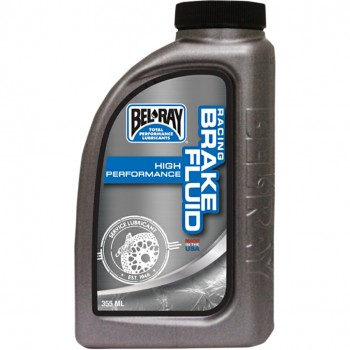 BRAKE FLUID BEL RAY RACING 355 ML FOR MOTORCYCLE AND HARLEY DAVIDSON