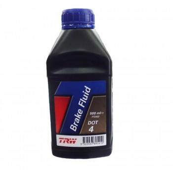 BRAKE FLUID TRW DOT 4 500 ML FOR MOTORCYCLE AND HARLEY DAVIDSON