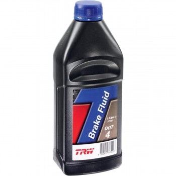 BRAKE FLUID TRW DOT 4 1 LT FOR MOTORCYCLE AND HARLEY DAVIDSON