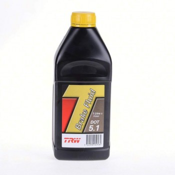 BRAKE FLUID TRW DOT 5.1 1 LT FOR MOTORCYCLE AND HARLEY DAVIDSON