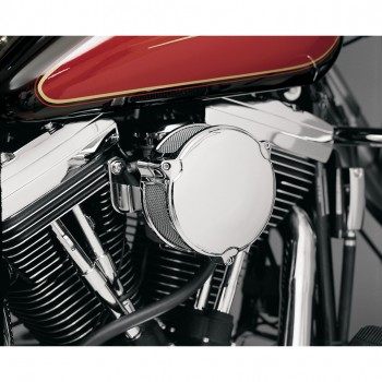 "FILTRO ARIA DRAGTRON II HIGH POWER 6"" CROMATO PER HARLEY DAVIDSON XL SPORTSTER '07-'18"
