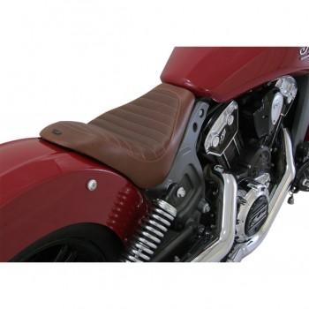 BROWN SOLO SEAT RSD ENZO™ FOR INDIAN SCOUT/SCOUT SIXTY '15-'18