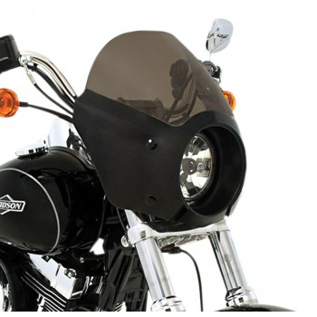 PARABREZZA CUPOLINO CAFE FAIRING PER HARLEY DAVIDSON XL 883L LOW/1200T SUPERLOW '14-'19