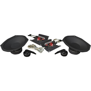 """WILD BOAR HOGTUNES AUDIO 6"""" X 9"""" 300 W COMPONENT SPEAKERS FOR HARLEY DAVIDSON TOURING '14-'18"""