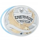 "POINT COVER ""LIVE TO RIDE"" GOLD PER HARLEY XL SPORTSTER '86-'03"