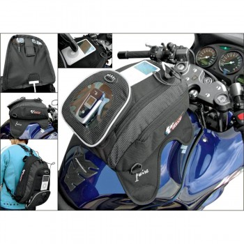TANK BAG BACKPACK I-WIRE MAGNETIC FOR MOTORCYCLE CUSTOM AND HARLEY DAVIDSON