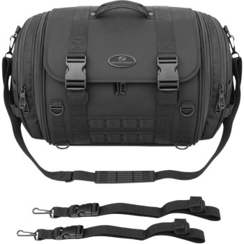 RACK TRAVEL BAG EXPANDABLE TR2300DE TACTICAL FOR CUSTOM MOTORCYCLE AND HARLEY DAVIDSON