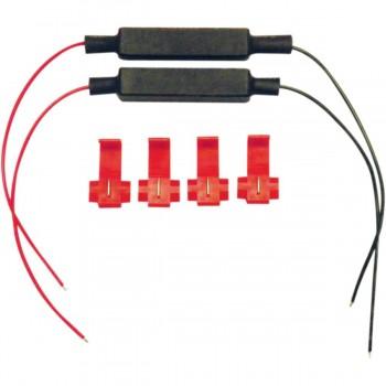 RESISTENZE IN LINEA PER FRECCE LED 20W 8,5 Ω MOTO