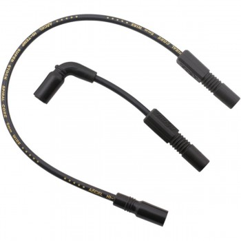 SPARK PLUG CABLES 8.8 MM SET ACCEL BLACK FOR HARLEY DAVIDSON XL SPORTSTER '07-'19