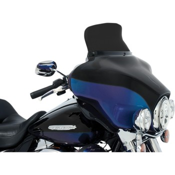 "SPOILER WINDSHIELD 6.5"" 165 MM DARK FOR OEM FAIRING HARLEY DAVIDSON FLH TOURING '96-'13"