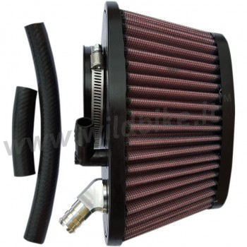 AIR FILTER TRASK POWER FLOW HIGH PERFORMANCE FOR INDIAN SCOUT/SIXTY/BOBBER '15-'19