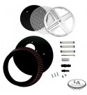 KIT BIG AIR XXX FILTRO ARIA CROMATO YAMAHA XVS 950 MIDNIGHT STAR