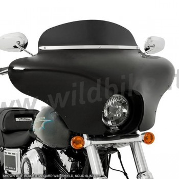 BATWING FAIRING WINDSHIELD BLACK FOR HARLEY DAVIDSON FXLR SOFTAIL LOW RIDER '18-'19