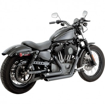 KIT HI-POWER STAGE 1 VANCE & HINES SHORTSHOTS NERI PER HARLEY XL SPORTSTER IRON FORTY EIGHT '07-'13