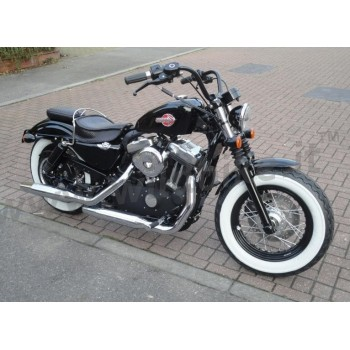 KIT HI-POWER STAGE 1 S&S AIR FILTER MUFFLERS TAPERED CHROME HARLEY XL SPORTSTER IRON FORTY EIGHT '07-'13