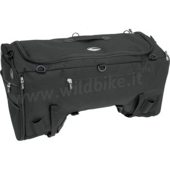 TRAVEL TAIL BAG TS3200 DE LUXE SPORT SISSY BAR LUGGAGE RACK FOR MOTORCYCLE AND HARLEY DAVIDSON