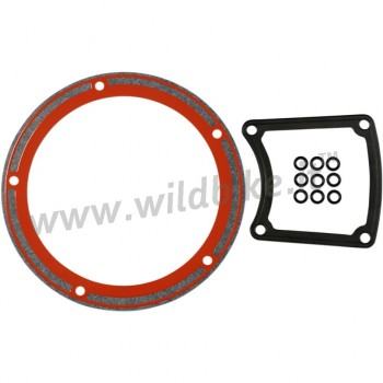 CLUTCH DERBY AND INSPECTION COVER GASKET KIT FOR HARLEY DAVIDSON TC 88 TOURING  '98-'06