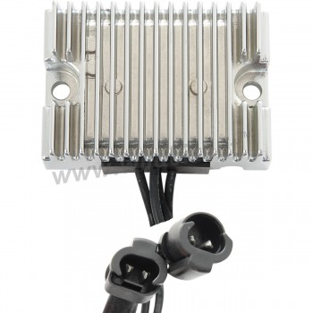 CHROME REGULATOR RECTIFIER TENSION SOLID STATE OEM 74711-08 FOR HARLEY DAVIDSON XL SPORTSTER '09-'13