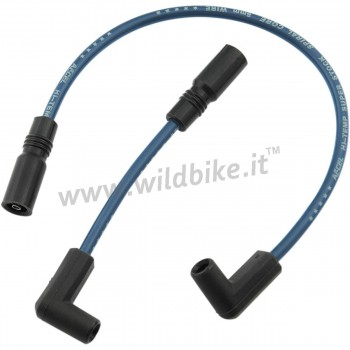 BLUE SPARK PLUG CABLES ACCEL 8 MM SET FOR HARLEY DAVIDSON FXD DYNA '99-'17